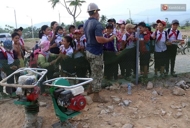 Hải quân Mỹ - Nhật dầm mình trong nắng, góp 1.500 ngày công để xây trường mầm non cho trẻ em Đà Nẵng - Ảnh 18.