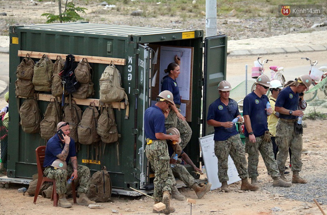 Hải quân Mỹ - Nhật dầm mình trong nắng, góp 1.500 ngày công để xây trường mầm non cho trẻ em Đà Nẵng - Ảnh 12.