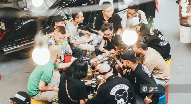 VietGangz Brotherhood - khu tổ hợp chất hết nấccủa giới underground đã mở cửa tại Hà Nội - Ảnh 8.