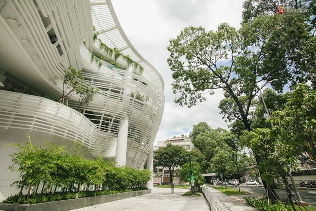 Thiên đường sống ảo mới của giới trẻ Sài Gòn: Nhà Thiếu nhi Thành phố siêu đẹp, siêu hiện đại! - Ảnh 4.