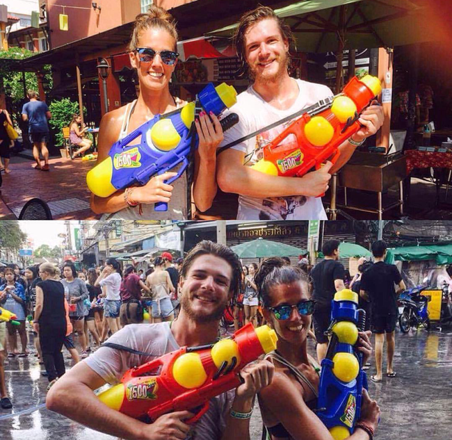 Ngắm mãi không hết trai xinh gái đẹp tại lễ hội té nước Songkran ở Bangkok! - Ảnh 8.