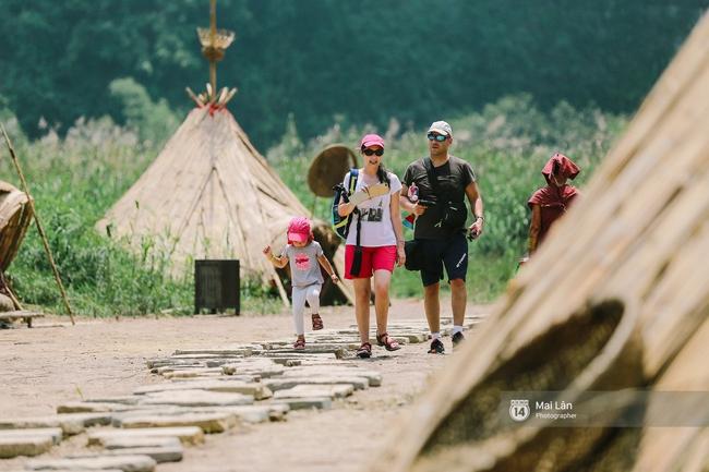 Cuối cùng cũng phục dựng xong, giờ tới Ninh Bình nhất định phải ghé làng thổ dân trong phim Kong! - ảnh 1