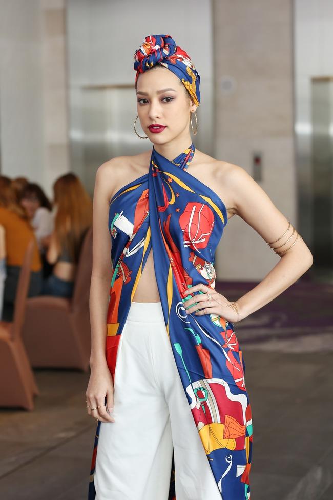 Khánh Ngân, Lilly Nguyễn phong cách đối lập chấm thi The Face - Ảnh 3.