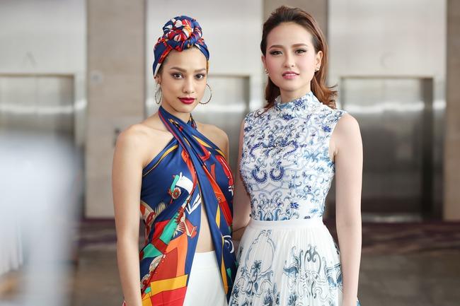 Khánh Ngân, Lilly Nguyễn phong cách đối lập chấm thi The Face - Ảnh 2.