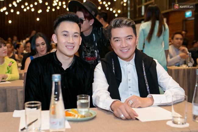 Đàm Vĩnh Hưng - Dương Triệu Vũ đầy tình cảm trong buổi ra mắt show thực tế mới cùng nhau - Ảnh 4.