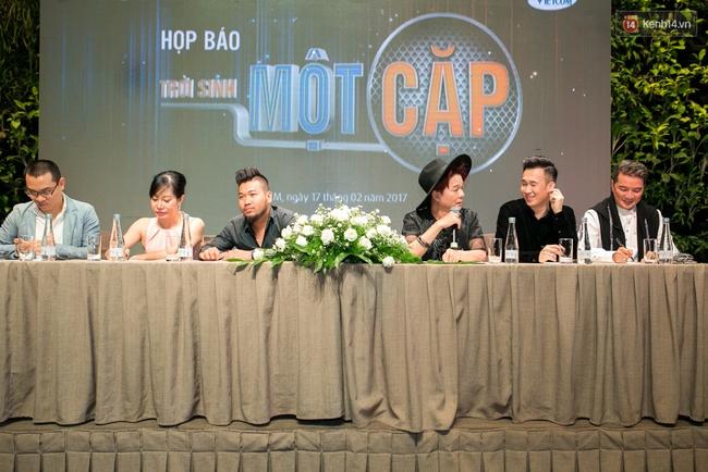 Đàm Vĩnh Hưng - Dương Triệu Vũ đầy tình cảm trong buổi ra mắt show thực tế mới cùng nhau - Ảnh 14.