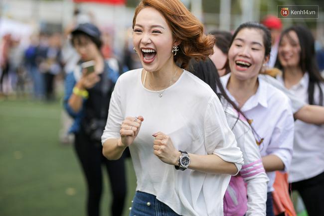 Sau lùm xùm không làm HLV The Face, Minh Hằng cười thả ga, vui vẻ quậy hết cỡ cùng fan - Ảnh 8.