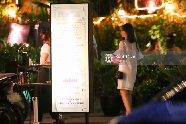 Bắt gặp Midu đi ăn tối thân mật cùng Shin Sung Rok - Ác nhân phim Vì sao đưa anh tới - Ảnh 6.