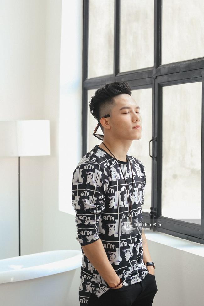 Hot boy Anh Tú (team Đông Nhi): Nói tôi giống Sơn Tùng không sao cả, nhưng tôi thần tượng G-Dragon! - Ảnh 2.