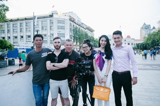 Công Vinh - Thủy Tiên lên kênh truyền hình thể thao số 1 thế giới - Ảnh 4.
