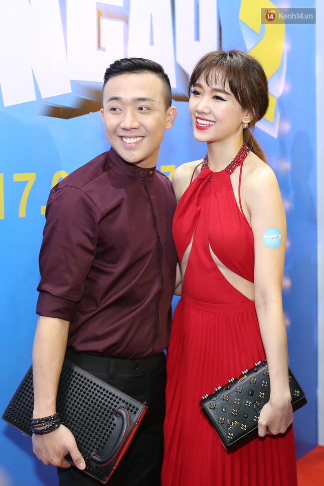 Bị nghi có bầu vì bụng bự, Hari Won quyết tâm giảm cân và diện đầm khoe chân ngực gợi cảm - Ảnh 2.
