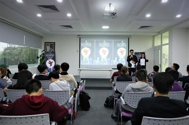 Học sinh Hà Nội hào hứng với cuộc thi làm phim Olympia Film Festival 2017 - ảnh 1