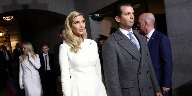 Tưởng bà Trump đã xuất sắc lắm, ai ngờ con gái ông Trump còn mặc đẹp hơn cả mẹ mình - Ảnh 3.