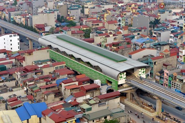 Các nhà ga của tuyến đường sắt Cát Linh - Hà Đông đang dần hoàn thiện, mỗi nhà ga là một màu sắc riêng biệt, nổi bật! - Ảnh 6.