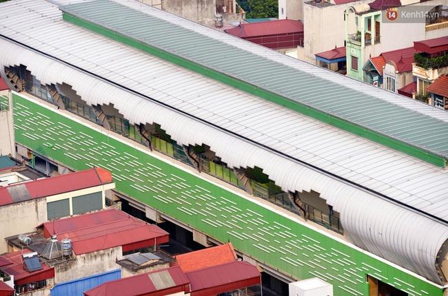 Các nhà ga của tuyến đường sắt Cát Linh - Hà Đông đang dần hoàn thiện, mỗi nhà ga là một màu sắc riêng biệt, nổi bật! - Ảnh 7.