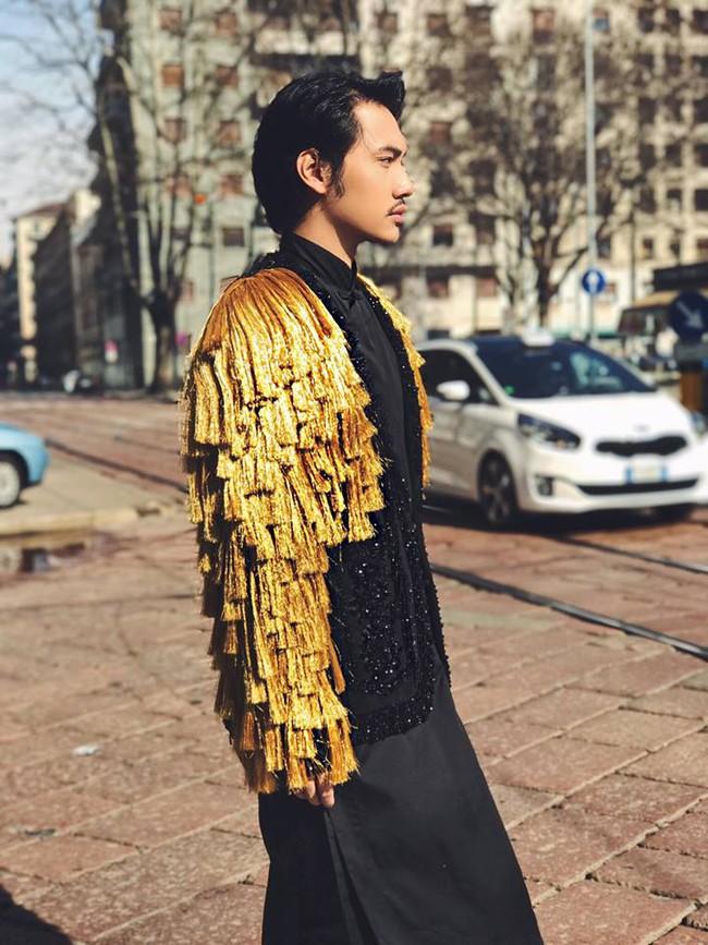 Lý Quí Khánh mang phong cách một mình một kiểu đến show Dolce&Gabbana tại Milan - Ảnh 2.