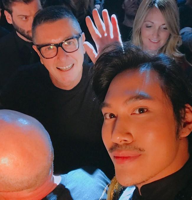 Lý Quí Khánh mang phong cách một mình một kiểu đến show Dolce&Gabbana tại Milan - Ảnh 4.