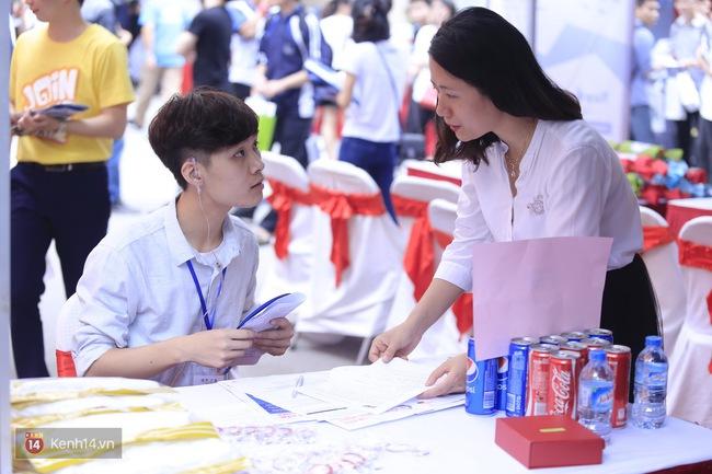 Ngày hội việc làm Công nghệ 2017: Khi sinh viên và các doanh nghiệp tìm được cầu nối - Ảnh 6.