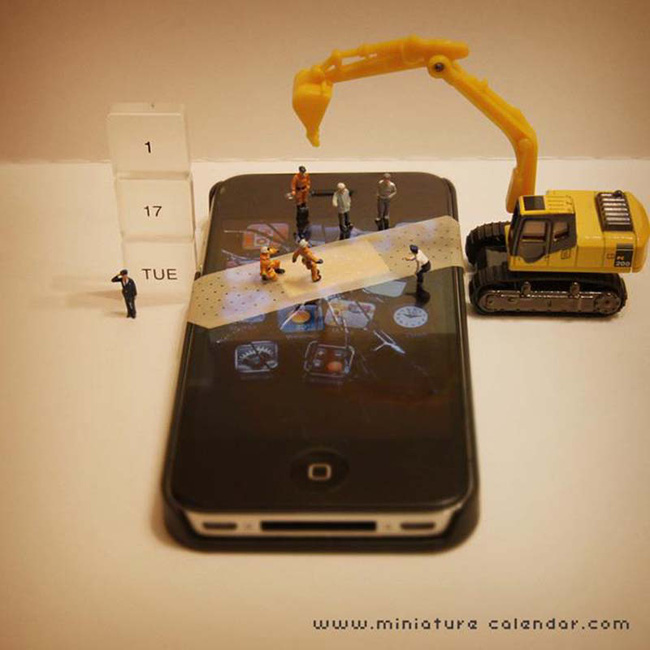 14 mô hình sắp đặt ấn tượng kết hợp từ smartphone - Ảnh 17.
