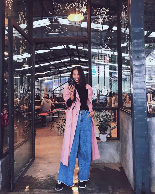 Hóa ra ngoài catwalk siêu, Minh Triệu còn sở hữu gu thời trang chất không tưởng - Ảnh 12.