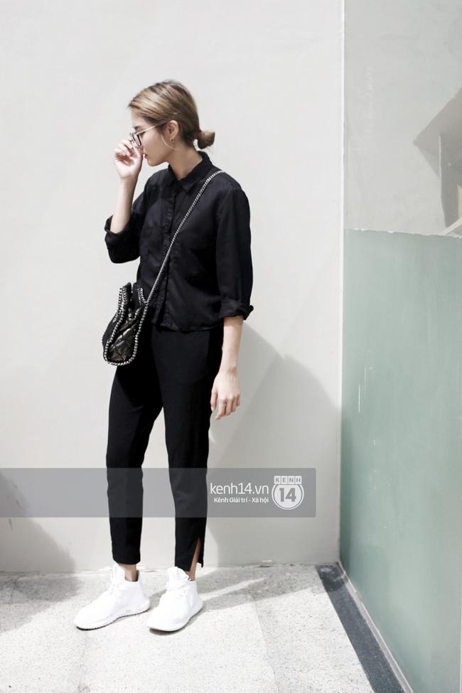 Street style 2 miền: Miền Bắc tắc kè hoa với đủ phong cách, miền Nam tuyền một màu đen bí ẩn - Ảnh 8.