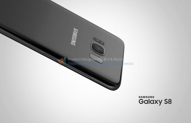 Chiêm ngưỡng ảnh render mới nhất của Galaxy S8 để thấy siêu phẩm này đẹp đến nhường nào - Ảnh 4.