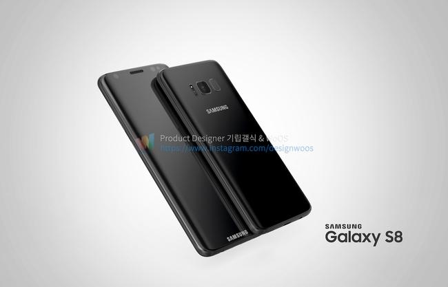 Chiêm ngưỡng ảnh render mới nhất của Galaxy S8 để thấy siêu phẩm này đẹp đến nhường nào - Ảnh 2.