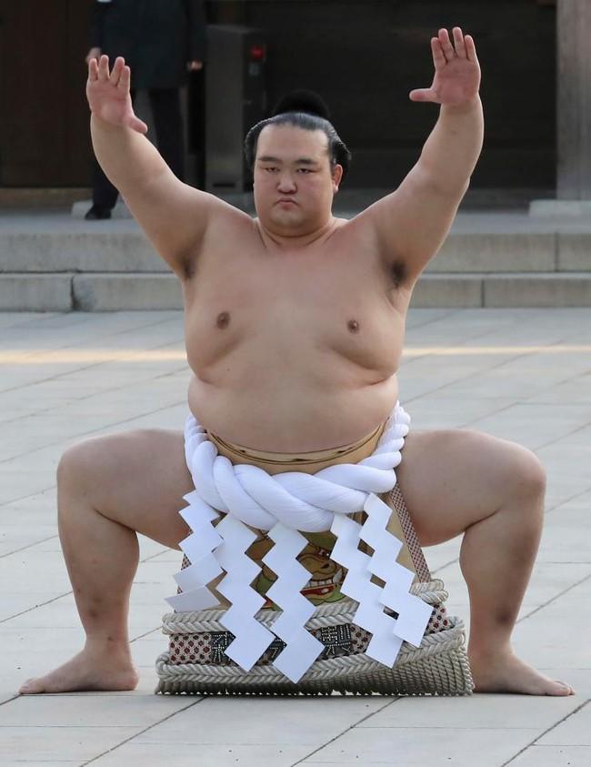 18.000 người nô nức mừng sumo Nhật nhận danh hiệu Thiên hạ vô song sau 20 năm - Ảnh 2.