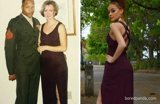 Diện váy của mẹ từ chục năm trước nhưng 17 cô nàng này trông vẫn long lanh như hot girl - Ảnh 8.