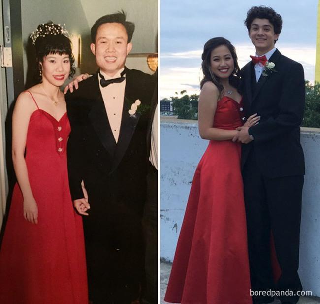 Diện váy của mẹ từ chục năm trước nhưng 17 cô nàng này trông vẫn long lanh như hot girl - Ảnh 12.