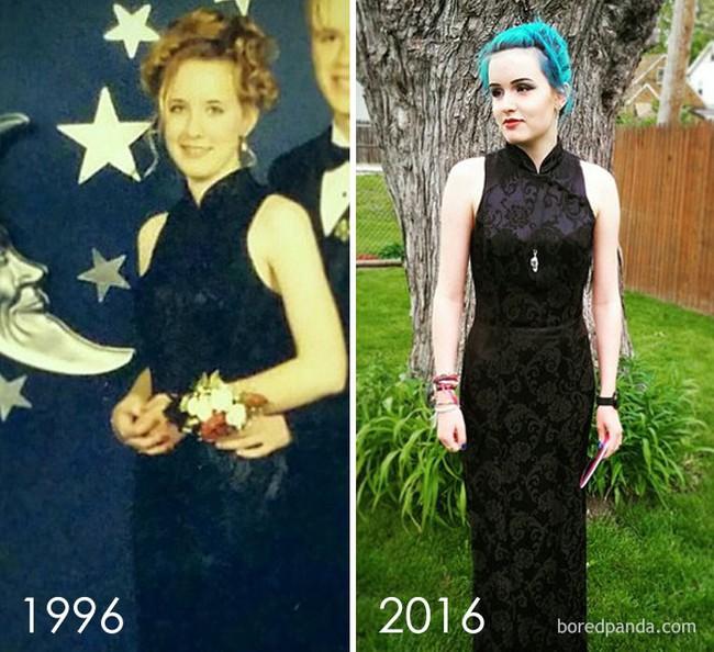 Diện váy của mẹ từ chục năm trước nhưng 17 cô nàng này trông vẫn long lanh như hot girl - Ảnh 13.