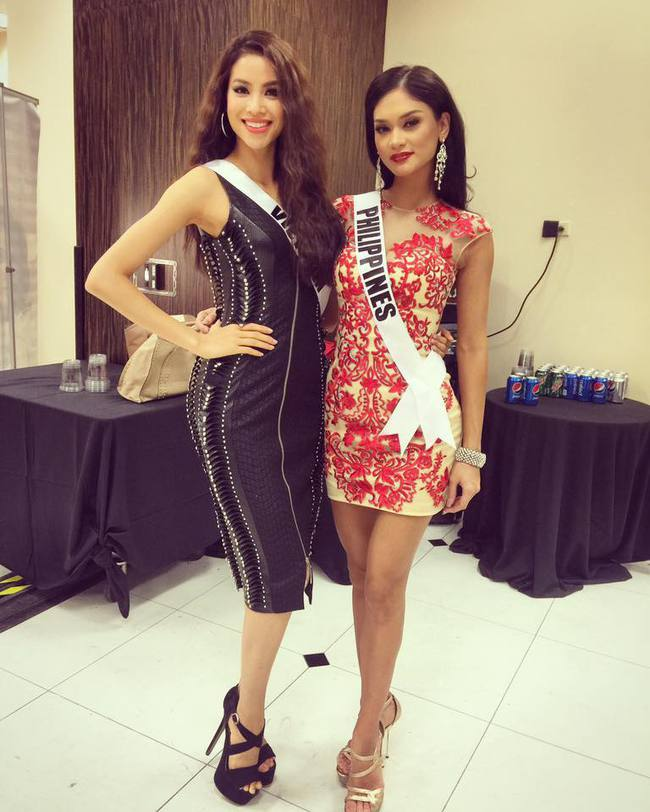Phạm Hương & Pia: Hai nàng Hoa hậu gây tranh cãi khi chấm thi show người mẫu - Ảnh 5.