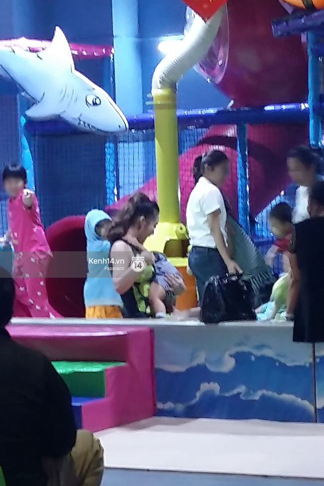 Phi Thanh Vân vui vẻ nô đùa cùng con trai giữa tâm bão đấu tố với chồng cũ - Ảnh 4.