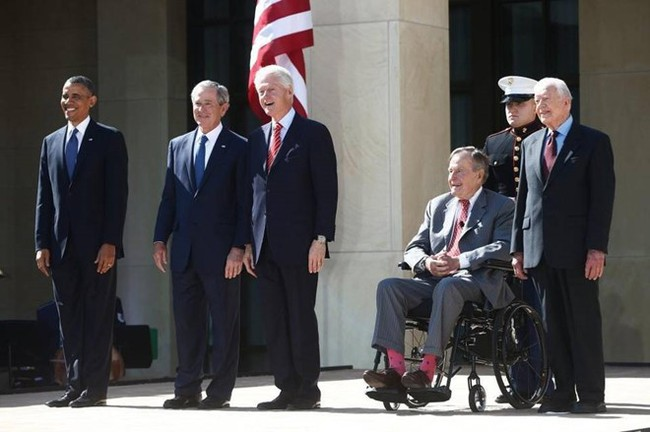 Tổng thống Mỹ được bảo vệ trọn đời sau khi rời Nhà Trắng - Ảnh 2.