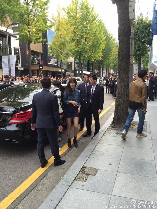 Mặc kệ ảnh kém chất lượng, Suzy vẫn khiến fan sốc vì chân thon, dáng đẹp - ảnh 1