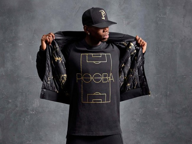 Pogba ra mắt bộ sưu tập thời trang độc quyền