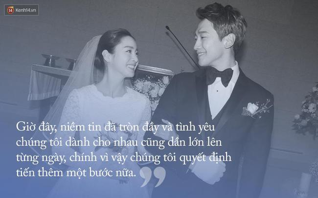 Đám cưới Bi Rain - Kim Tae Hee: Khi đã đủ đầy, người ta không còn quá quan tâm đến những giá trị vật chất, bởi vui là được! - ảnh 1