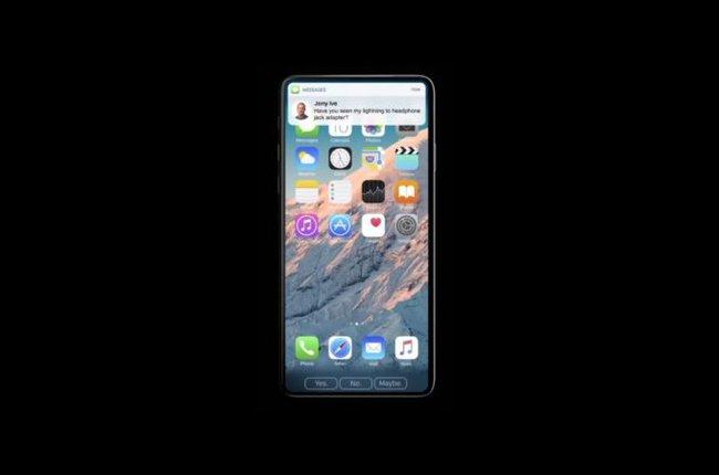 Vẻ đẹp mê mẩn đầy sang chảnh của chiếc iPhone 8 không có viền màn hình - Ảnh 2.