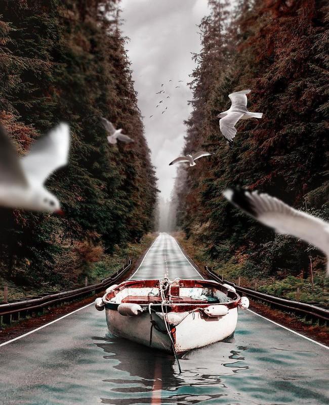 Thế giới nửa thực nửa mơ đầy ấn tượng qua bộ ảnh Photoshop diệu kì - Ảnh 4.