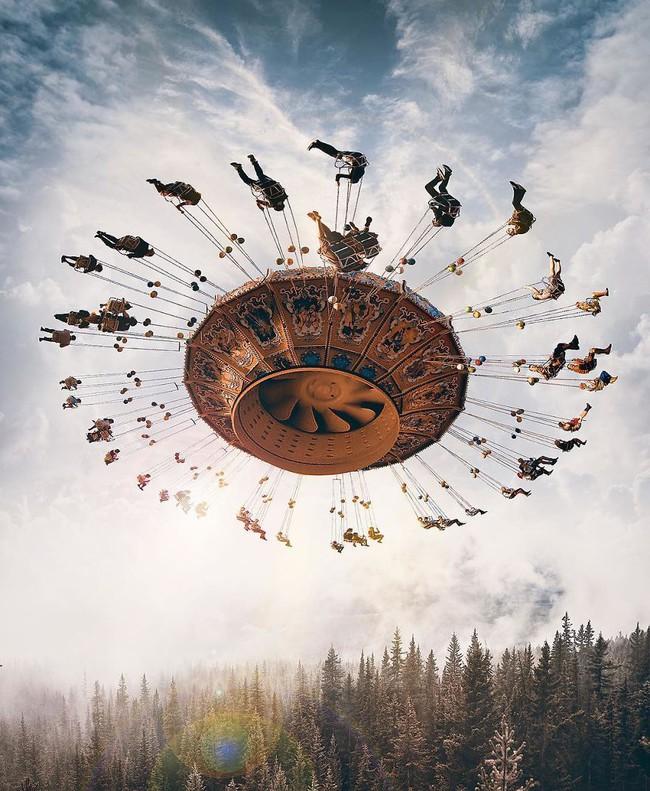 Thế giới nửa thực nửa mơ đầy ấn tượng qua bộ ảnh Photoshop diệu kì - Ảnh 7.