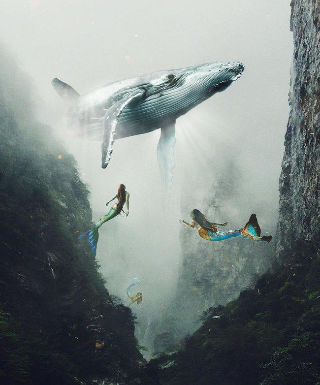 Thế giới nửa thực nửa mơ đầy ấn tượng qua bộ ảnh Photoshop diệu kì - Ảnh 13.