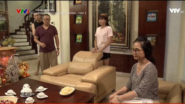 Sống Chung Với Mẹ Chồng - Tập 4: Không chỉ con dâu, bà Phương còn hung dữ với cả mẹ chồng mình! - Ảnh 1.