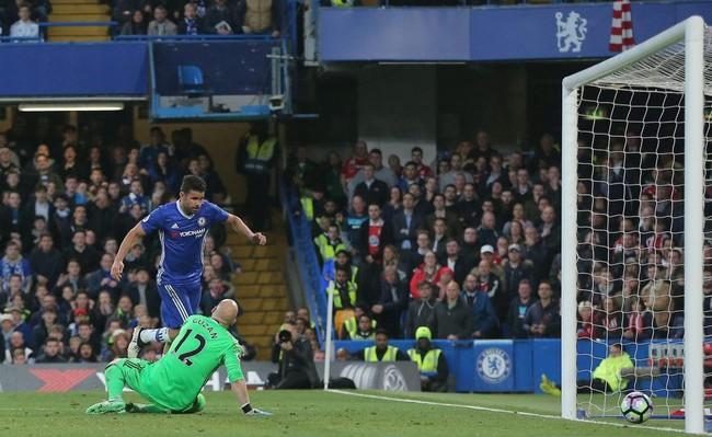 Ăn mừng kỳ lạ, Diego Costa nói lời tạm biệt Chelsea? - Ảnh 1.