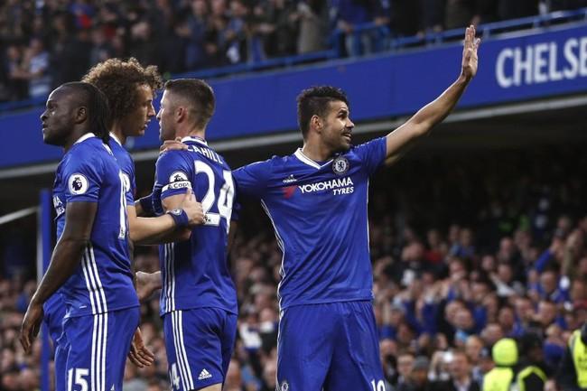 Ăn mừng kỳ lạ, Diego Costa nói lời tạm biệt Chelsea? - Ảnh 2.