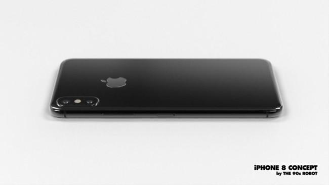 Cận cảnh iPhone 8 đẹp rụng rời khiến tất cả smartphone khác lu mờ
