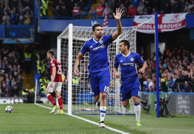 Ăn mừng kỳ lạ, Diego Costa nói lời tạm biệt Chelsea? - Ảnh 3.