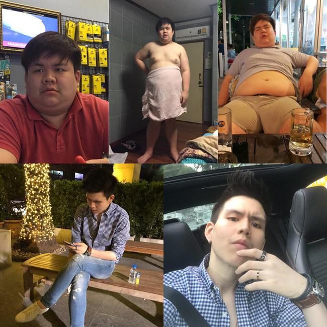 Cú lột xác đầy ngoạn mục của anh chàng béo siêu bụng bự sau 1 năm biến thành soái ca - Ảnh 4.