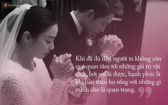 Đám cưới Bi Rain - Kim Tae Hee: Khi đã đủ đầy, người ta không còn quá quan tâm đến những giá trị vật chất, bởi vui là được! - ảnh 6