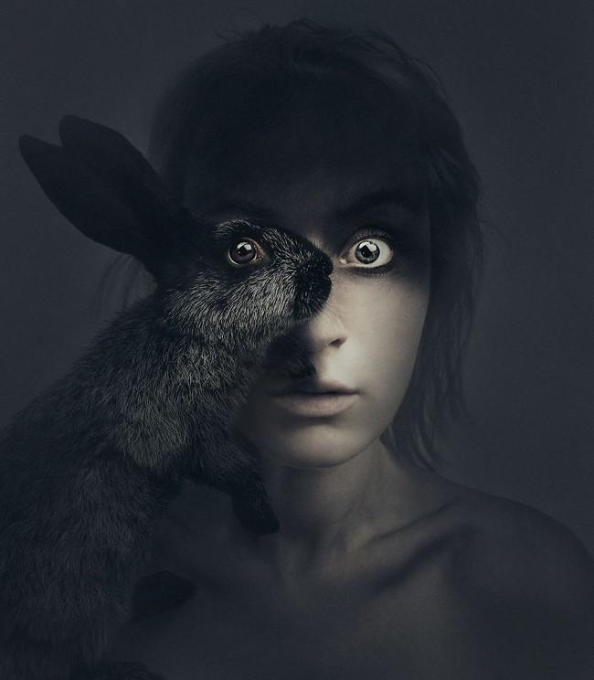 Con người và động vật xuất hiện cùng nhau trong bộ ảnh ghép mắt tuyệt đẹp - Ảnh 9.