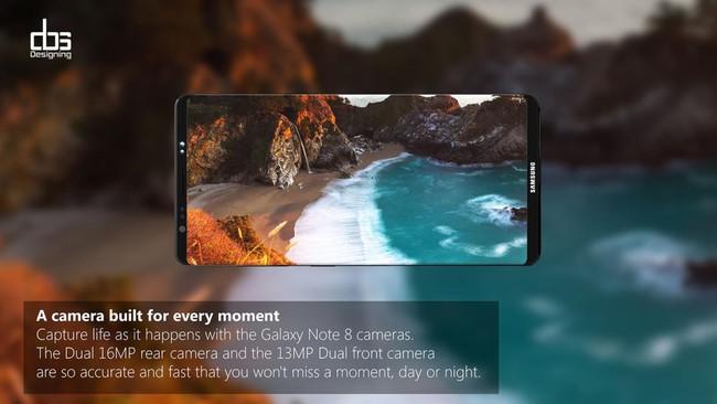 Nhìn Galaxy Note 8 đẹp như thế này thì ai mà chê nổi cơ chứ - Ảnh 3.